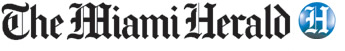 image of text The Miami Herald accompanied by the publication's logo